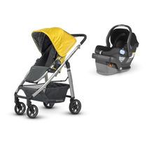 Kit Carrinho De Bebê C/ Bebê Conforto Uppababy Cruz
