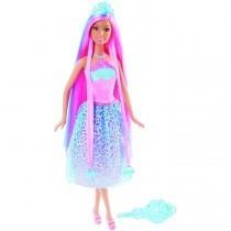 Barbie Reino Dos Penteados Mágicos Princesa Rosa