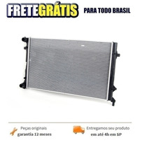 Radiador De Agua Golf 2.0 Plus 2002-2006 Original
