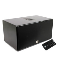 Caixa Amplificada Com Bluetooth Aat Iblu Box Black Piano