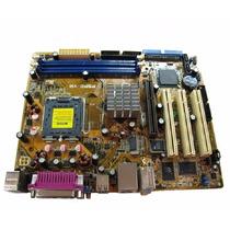 Placa Mãe 775 Asus P5pe-vm Cel/p4/dual Core - Com Defeito