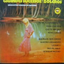 Lp - Grandes Sucessos Boleros - Orquestra Sono Vinil Raro