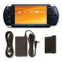 Psp 3001 Desb. + 16gb + Kit Game Sony C/ Case + Fone + Jogo