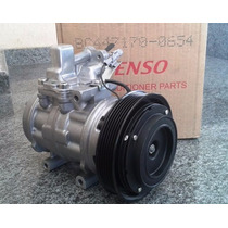 Compressor Denso 10p15c Toyota Corolla Polia 6pk Sem Juros