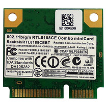 Rtl8188ce Placa Wireless Realtek Para Notebook