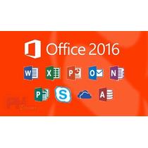 Dvd De Instalação Office 2016 32 E 64 Bits+brindes Especiais