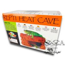 Zoomed Caverna Aquecida Para Reptéis/terrários - Rh8