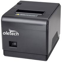 Impressora Térmica Usb 80mm Oletech Ot450 (guilhotina)