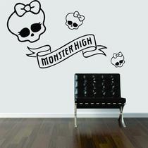 Adesivo Decorativo Parede Quarto Infantil Monster High