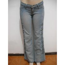 Calça Jeans Tam 38 Detalhes Em Metal Bom Estado