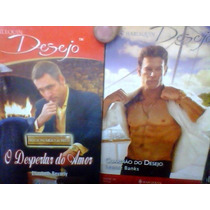 Lote De 10 Revistas Romances Harlequin Desejo