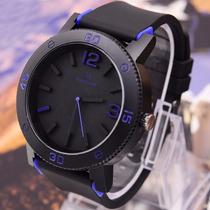Relógio V6 Importado Pulseira Silicone Barato Masculino