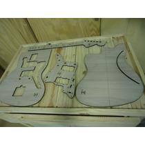 Kit Gabaritos - Jazz Master - Corte A Laser - Luthier