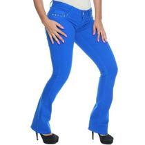 Calça Feminina Flare Colorida Modela Bumbum - Frete Grátis