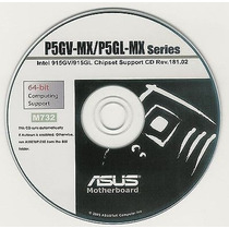 Cd Drivers Original Placa Mae Asus P5gl-mx / P5gv-mx