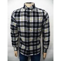 Camisa Blusa Masculina Flanela Xadrez Manga Longa