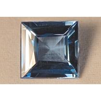 Rsp 1450 Topázio Azul Square 14,2x13,95mm Com 12,75 Ct