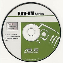 Cd Drivers Original Placa Mae Asus K8v-vm
