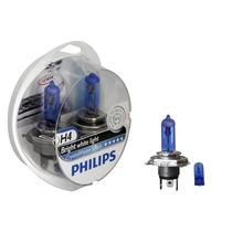 Lampada Philips H4 4300k Cristal Vision Super Branca