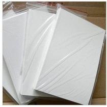 100 Adesivos Vinil Branco A4 Impressora Laser - 100 Folhas