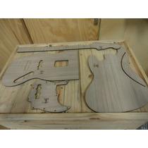 Kit Gabaritos - Jazz Bass 4 Cordas - Corte A Laser - Luthier