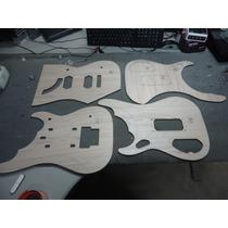 Kit Gabaritos - Mod. N4 - Corte A Laser - Luthier