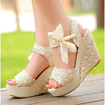 Sapato Plataforma Japonês Importado Pronta Entrega