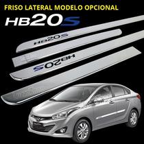 Friso Do Hb20s Cromado Largo Mod. Opcional 2013, 2014, 2015