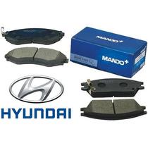 Jogo Pastilha Dianteira Hyundai Sonata Original Made In Kore