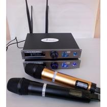 Microfone Sem Fio Profissional Uhf Alta Performace