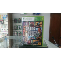 Grand Theft Auto V - Xbox 360 Mídia Física (semi Novo)