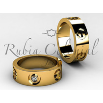Aliança Em Ouro 18 Kt Modelo Cartier