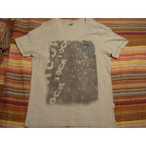 Blusa Cinza Basica Gola V Tam. G Camiseta Camisa Bolso