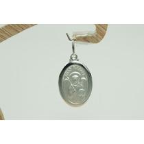 Pingente Medalha Anjo Rafael (m3v) Prata 925