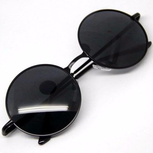 Óculos De Sol Redondo Estilo Ozzy John Lennon Frete Rs 15,00 51a2ef6f93