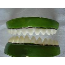 Dentes De Monstro Presas Silicone Para Adulto