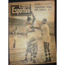 Manchete Esportiva Nº 108 1957 Fluminense Botafogo Flamengo