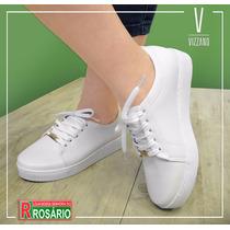 Sapato Feminino Vizzano Casual Branco - 1214.205