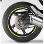 Kit De Frisos Refletivos Para Roda De Moto Cb 600 F Hornet