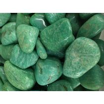 Amazonita Pedras Semipreciosas Brasileiras Polidas - 2kg