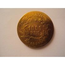 Moeda Brasileira Antiga - 1000 Réis 1927
