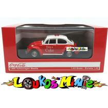 Vw 1966 Fusca Coca-cola Beetle Escala 1:43 No Box Acrílico