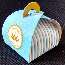 Caixa Trufa Coroa Azul (10 Unidades)