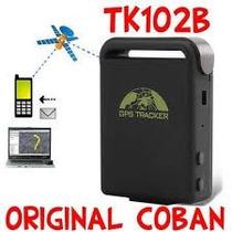 Rastreador Tk102b Original Coban Com Cabo Veicular E Bateria