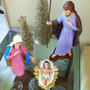 Imagem Sacra - Presépio De Natal Emborrachado.