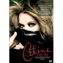 Dvd Celine Dion - An Audience With 2007