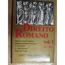 Direito Romano Volume 1 Jose Carlos Moreira Alves 1995