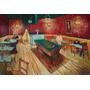 Salão Bar Sinuca Pintura A Óleo Feita Mão Van Gogh Repro
