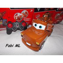 Carro Mater Disney Com Controle Remoto Gigante-bateria Recar