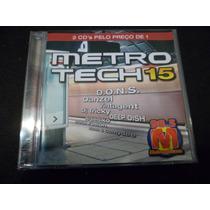 Cd Metro Tech 15 Musica Flash House Anos 70 80 90